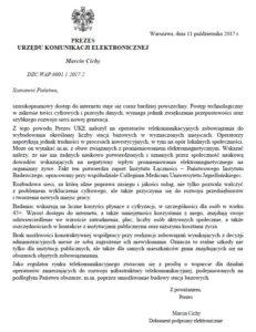 pismo do gmin